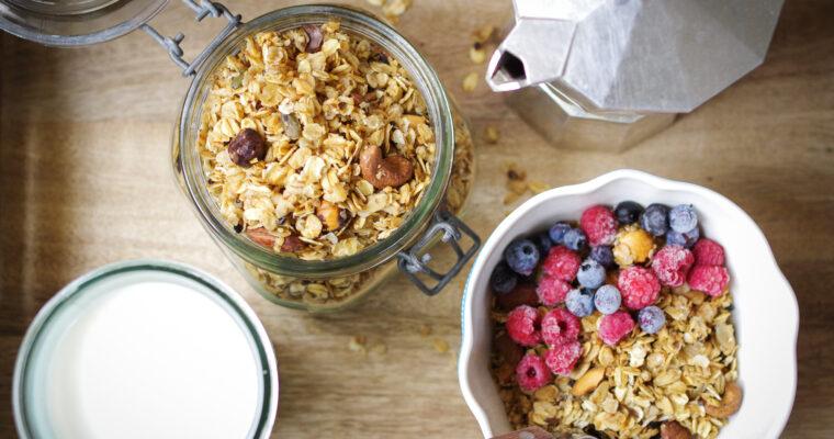 Krõbe granola seemnete ja pähklitega