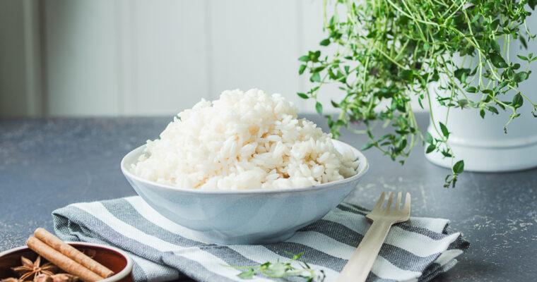 Keedetud kohev riis